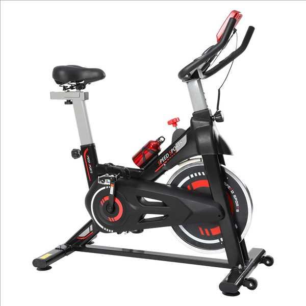 """אופני ספינינג גלגל תנופה 10 ק""""ג דגם ES-7905B מבית AMERICAN SPORT"""