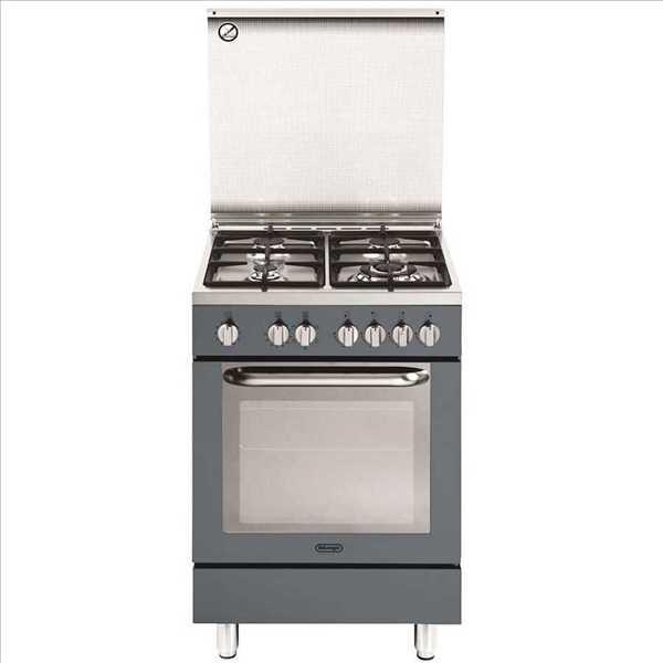 תנור משולב כיריים אפור Delonghi NDS577G דה לונגי
