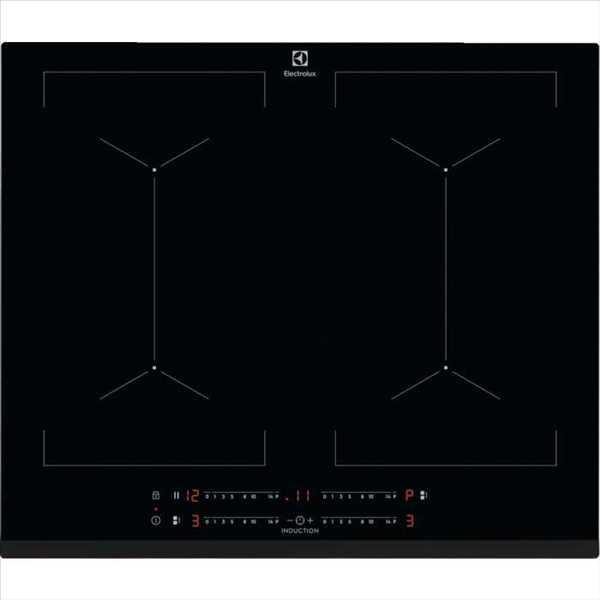 """כיריים אינדוקציה 60 ס""""מ שחורות Electrolux EIV644 אלקטרולוקס"""
