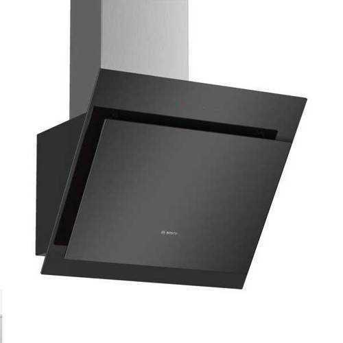 """קולט אדים זכוכית שחורה 60 ס""""מ זוויתי Bosch DWK67CM60 בוש"""