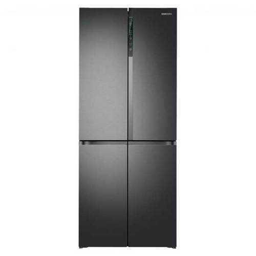 מקרר 4 דלתות 528 ליטר שחור פחם Samsung RF50K5920B1 סמסונג