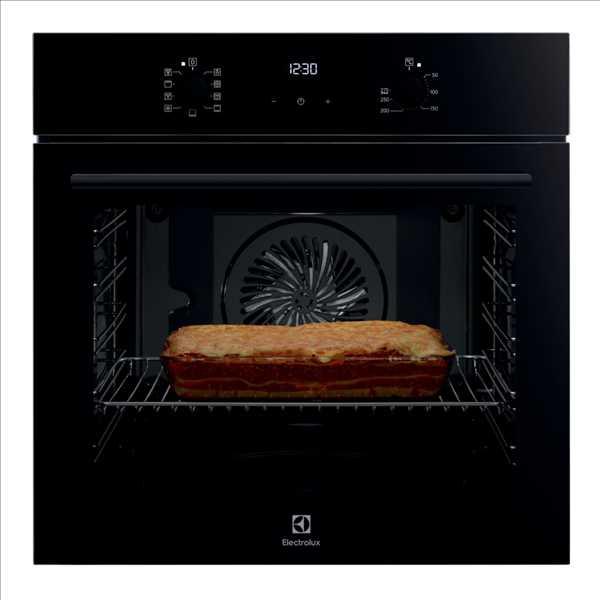 תנור בנוי 71 ליטר שחור Electrolux EOH7427K אלקטרולוקס