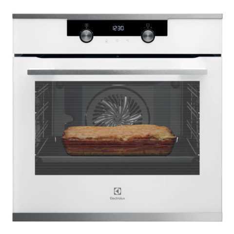 תנור בנוי 71 ליטר לבן Electrolux EOH7427V אלקטרולוקס