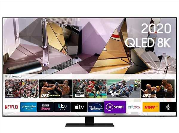 טלוויזיה 55 אינטש Samsung QE55Q700T 8K סמסונג