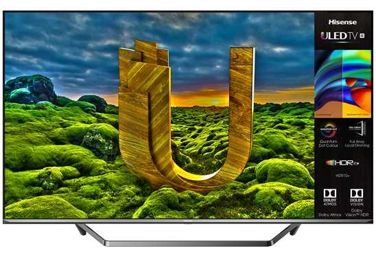 """טלוויזיה חכמה """"Hisense K4 ULED 65U7QFIL 65 הייסנס"""