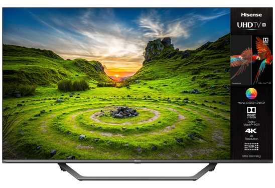 """טלוויזיה חכמה """"Hisense 4K Ultra HD 50A7500FIL 50 הייסנס"""
