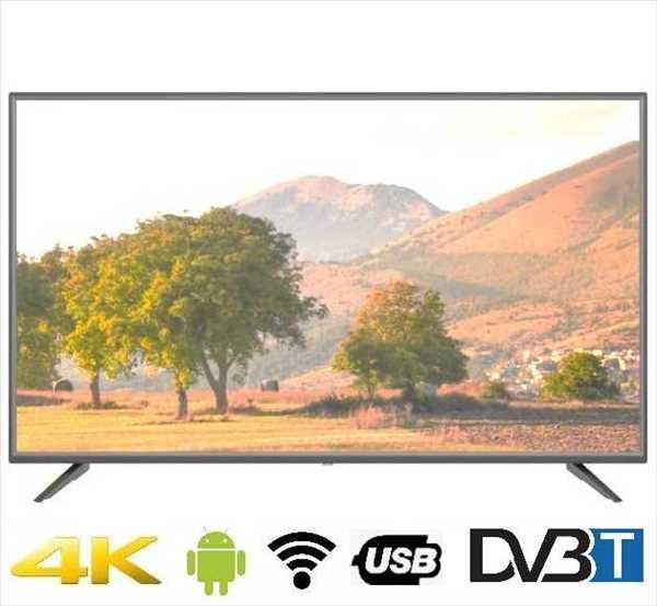 """טלוויזיה """"43 4K SMART LD-43AN14K/EL מבית ישפאר LENCO לנקו"""
