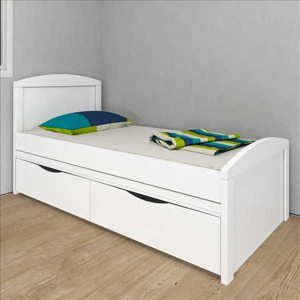 מיטה + תחתונה מדגם אגם מבית עץ פטל