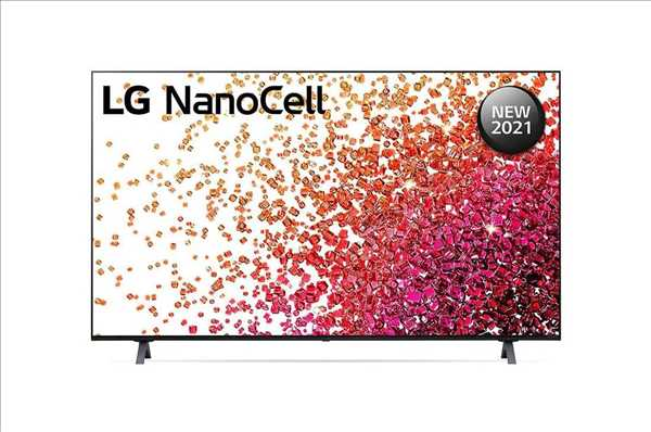 """טלוויזיה LG 50"""" Smart NanoCell 50NANO75VPA אל ג'י"""