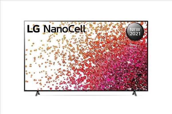 """טלוויזיה LG 75"""" Smart NanoCell 75NANO75VPA אל ג'י"""