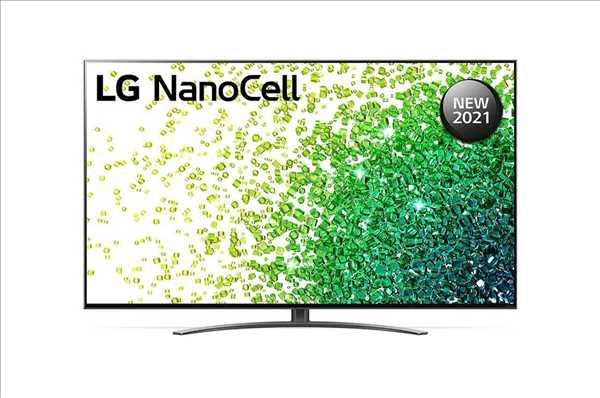 """טלוויזיה LG UHD 55"""" 4K Smart 55NANO86VPA אל ג'י"""