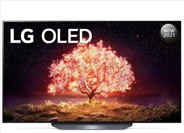 טלוויזיה 55 אינץ' דגם OLED 55B16LA/PVA  בטכנולוגיית LG OLED 4K Ultra HD אל ג'י