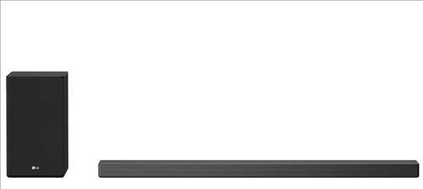 מקרן קול 380 וואט 3.1.2 ערוצים כולל סאבוופר אלחוטי LG SN7Y DTS X אל ג'י