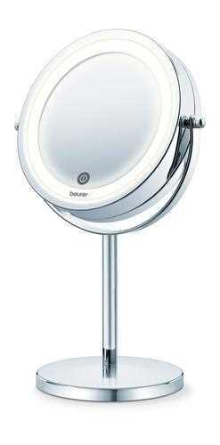 מראה קוסמטית שולחנית Beurer מגדילה פי 7 עם תאורת LED דגם BS55 בוריר