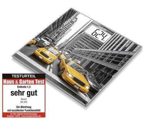 משקל זכוכית ניו יורק Beurer דגם GS203NY בוריר