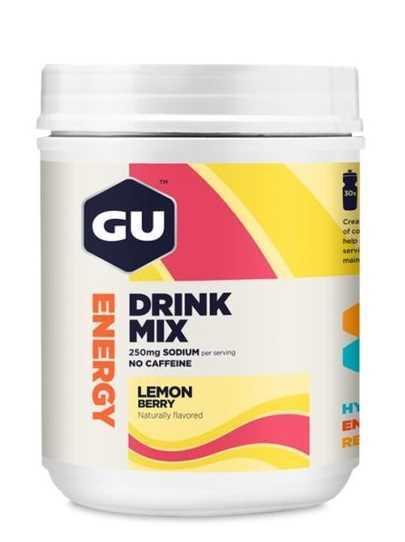 משקה איזוטוני GU בטעם לימון ופירות יער 30 מנות