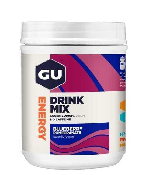 משקה איזוטוני GU בטעם אוכמניות ורימונים 30 מנות