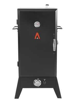 מעשנה על גז AMGAZIT מלבנית בעיצוב חדשני מבית אמגזית