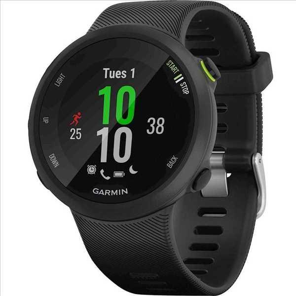 שעון ספורט חכם Garmin דגם Forerunner 45 - שחור