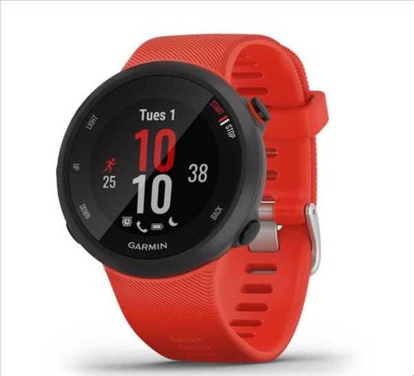 שעון ספורט חכם Garmin דגם Forerunner 45 - אדום