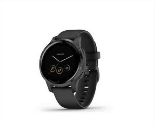 שעון ספורט חכם GARMIN דגם Black/Slate  - vivoactive 4s