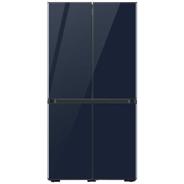 מקרר 4 דלתות 589 ליטר SAMSUNG דגם RF70T9113 BLUE סמסונג