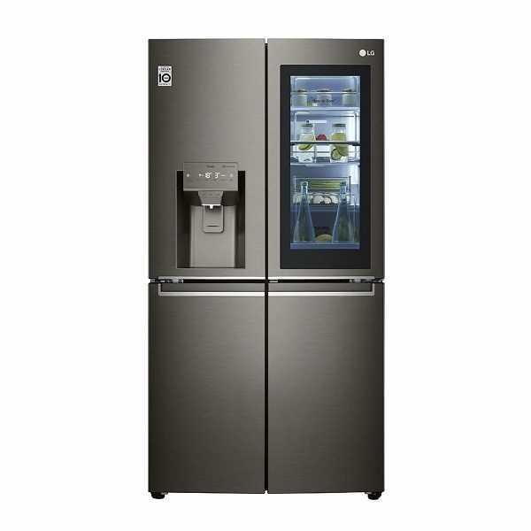 מקרר 4 דלתות 563 ליטר LG דגם GR-X720INS אל.ג'י