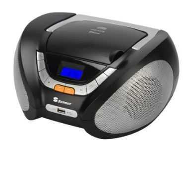 רדיו SELMOR CD MP3 דגם SE-909 סלמור