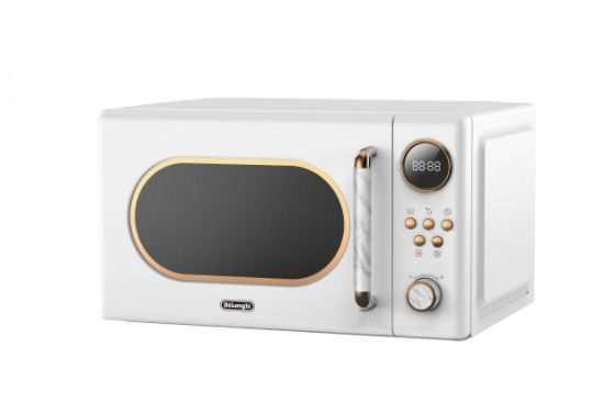 מיקרוגל דיגיטלי 20 ליטר Delonghi דגם DL-3820-W דלונגי - לבן