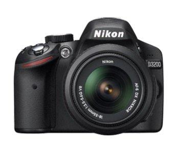 מצלמה D3200 NIKON +עדשה 18-105VR