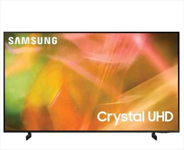 """טלוויזיה 4K SmartTV """"50 דגם UE50AU8000 Samsung סמסונג"""