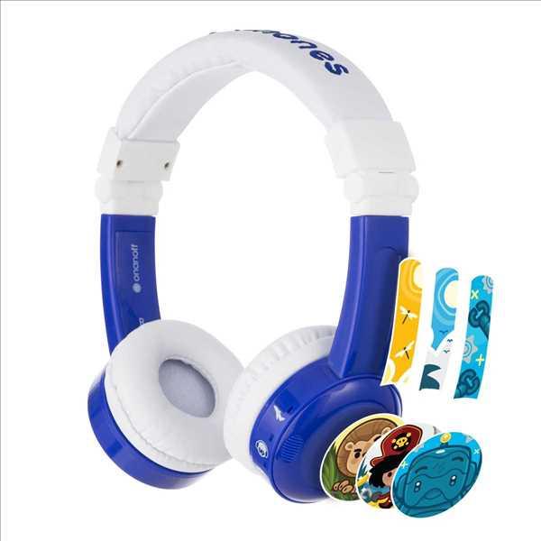 אוזניות מתקפלות לילדים BuddyPhones InFlight