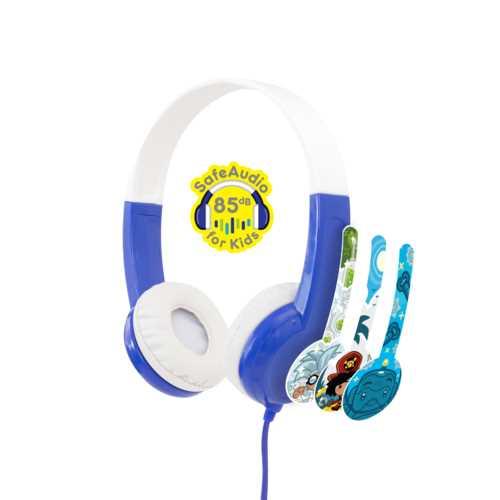 אוזניות מותאמות במיוחד לילדים BuddyPhones Discover