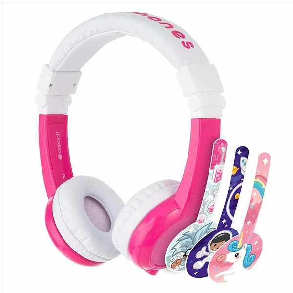 אוזניות מתקפלות לילדים BuddyPhones Explore