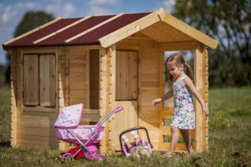 בית עץ לילדים Garden Top דגם M501 -מבית TIMBELA&KO