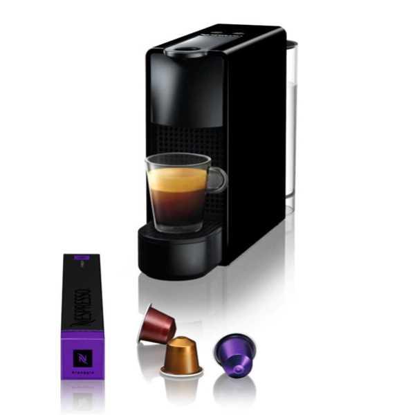 מכונת קפה אסנזה מיני C30 בצבע  Nespresso PIANO BLACK נספרסו
