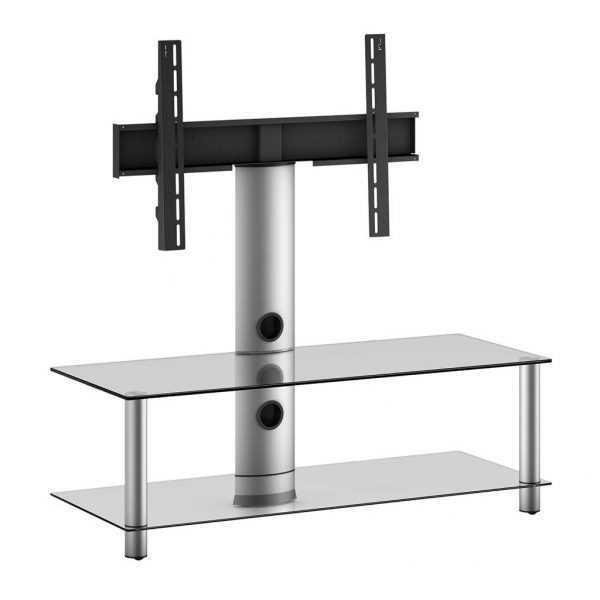 שולחן טלויזיה זכוכית משולב תלייה עד 42 דגם NEO110