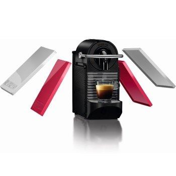 מכונת קפה Nespresso   פיקסי קליפס בצבע לבן וקורל דגם D60