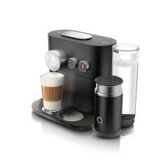מכונת קפה Nespresso Expert & milk עם מקציף חלב מובנה בצבע שחור דגם C85