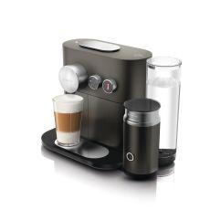 מכונת קפה Nespresso Expert & milk עם מקציף חלב מובנה בצבע שחור דגם D85