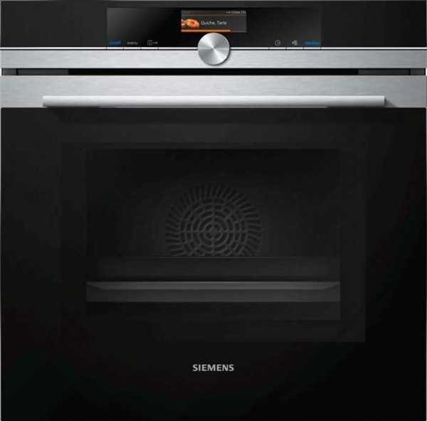תנור בנוי פירוליטי משולב מיקרוגל 67 ליטר Siemens HM676G0S6 סימנס