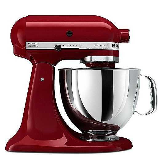 מיקסר מקצועי KitchenAid דגם KSM-150 אדום יין