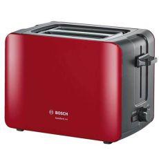 מצנם 2 פרוסות Bosch TAT6A114 אדום+אפור