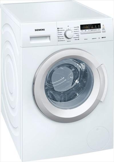 """מכונת כביסה פתח קידמי Siemens WM12K260IL 8 ק""""ג סימנס"""