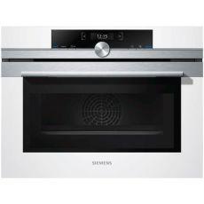 תנור בנוי משולב מיקרוגל Siemens סימנס CM633GBW1