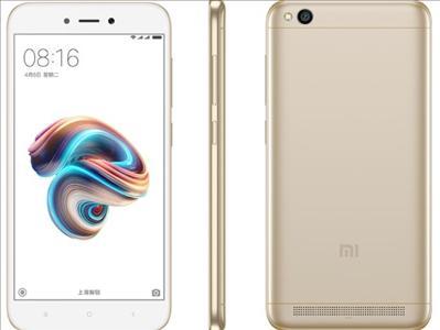 טלפון סלולרי Xiaomi Redmi 5A 16GB שיאומי צבע זהב