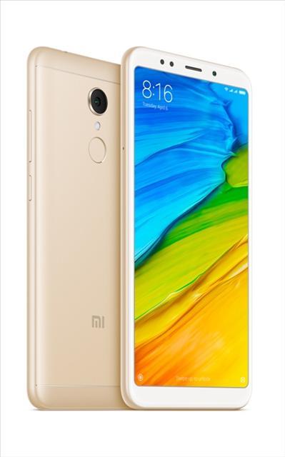 טלפון סלולרי XIAOMI REDMI 5 32+3 GB שיאומי צבע זהב
