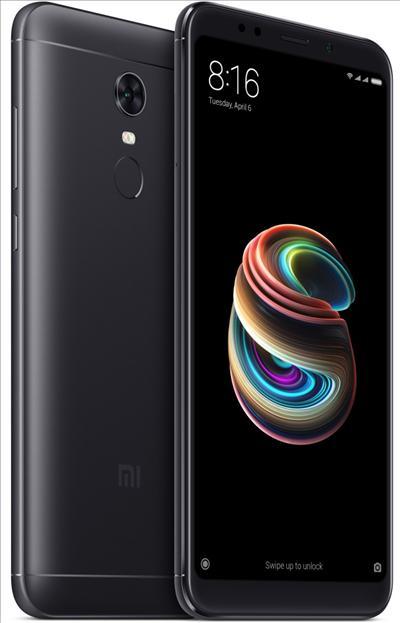 טלפון סלולרי Xiaomi Redmi 5 Plus 64GB שיאומי צבע שחור