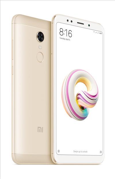 טלפון סלולרי Xiaomi Redmi 5 Plus 64GB שיאומי צבע זהב