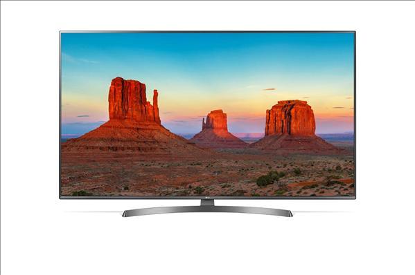 "טלוויזיה LG 55"" Smart 4K LED 55UK6700Y אל ג'י"